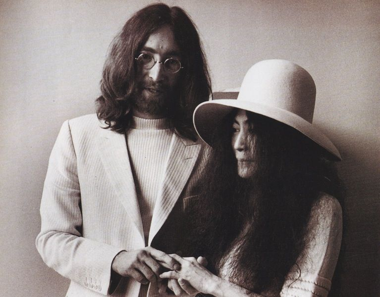 Image result for john lennon married yoko ono newspaper articles