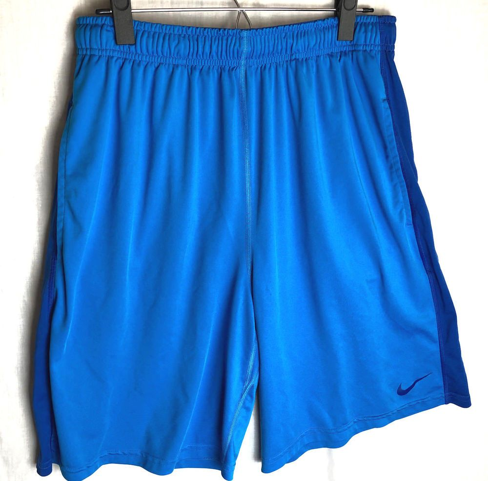 factory authentic 61aef be19b Nike Dri-Fit Fly 2.0 Training Shorts Size XL Mens Blue Pockets Athletic   Nike  Shorts