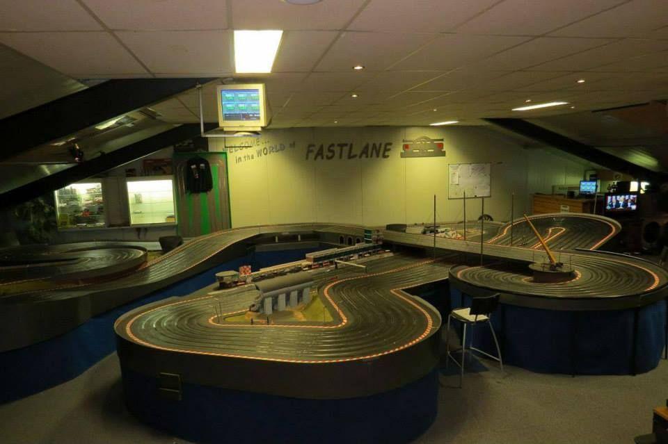 SRC Fastlane 170 Foot Carrera Slot racing, Slot car