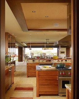 Hawaii Residence  Tropical  Kitchen  Hawaii Slifer Designs Simple Kitchen Design Hawaii Decorating Design