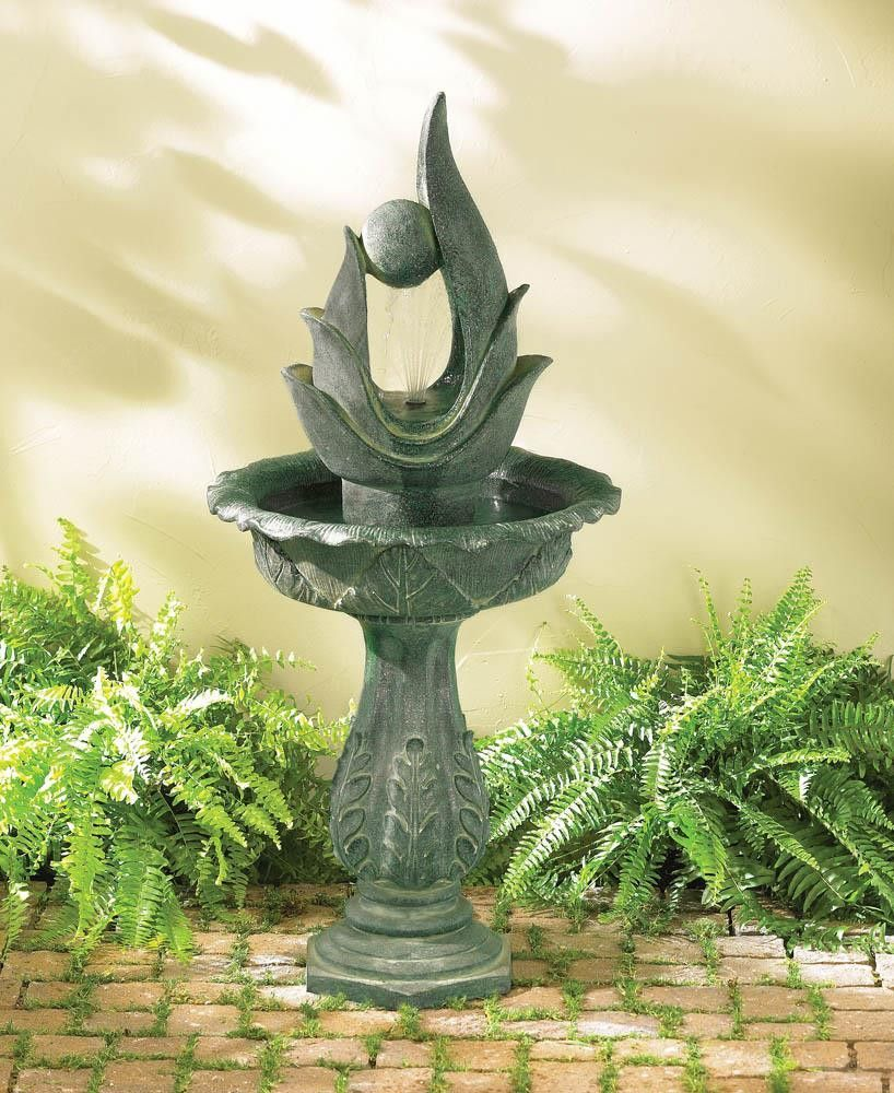 Standing designer fountain | Fountain, Water fountains and Water