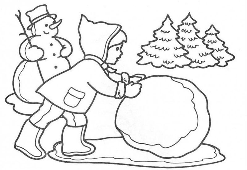 Winter Coloring Pages For Middle School In 2020 Coloring Pages For Kids Christmas Drawing Coloring Pages Winter