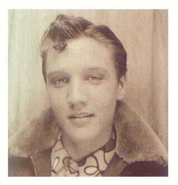 Elvis was a natural blonde.