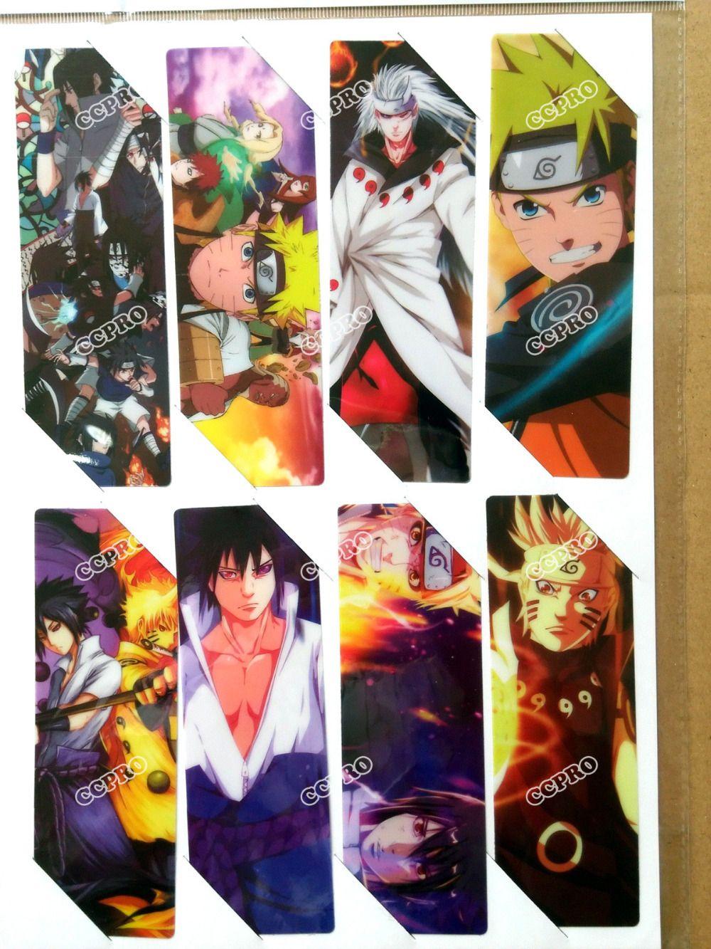 Merchandising & Fanartikel 8pcs/set PVC Lesezeichen Bookmarks of  Anime K project book mark
