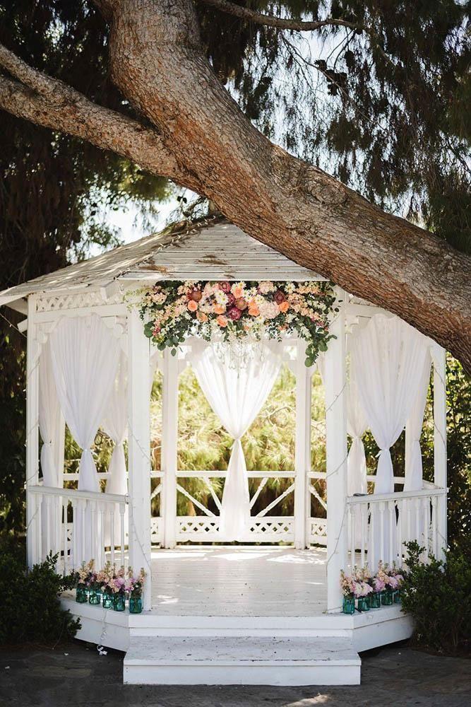 30 Wedding Ceremony Decorations Ideas -   13 wedding Ceremony gazebo ideas
