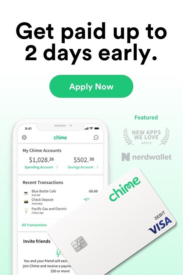 Chime Banking Made Awesome.