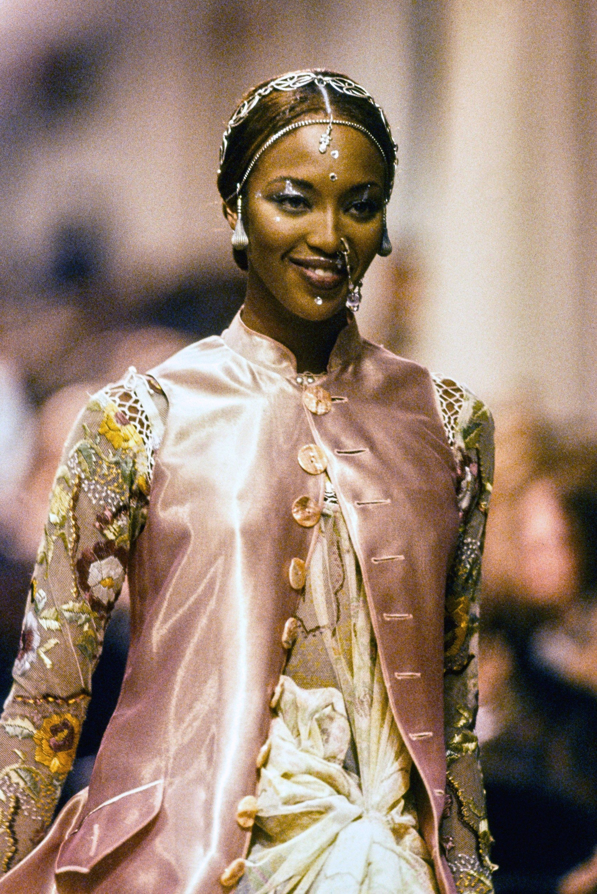 Jean Paul Gaultier Spring 1994 Ready-to-Wear collection - Naomie Campbell
