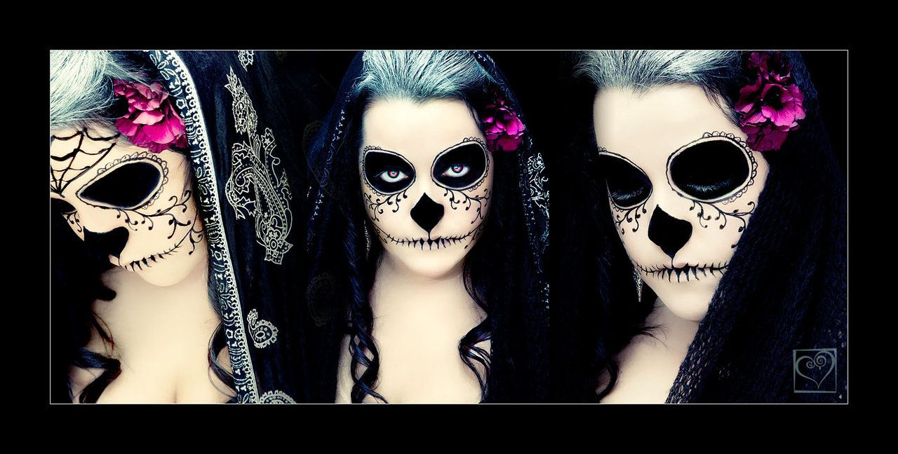 Day of the Dead Dia de los Muertos calavera skull make up