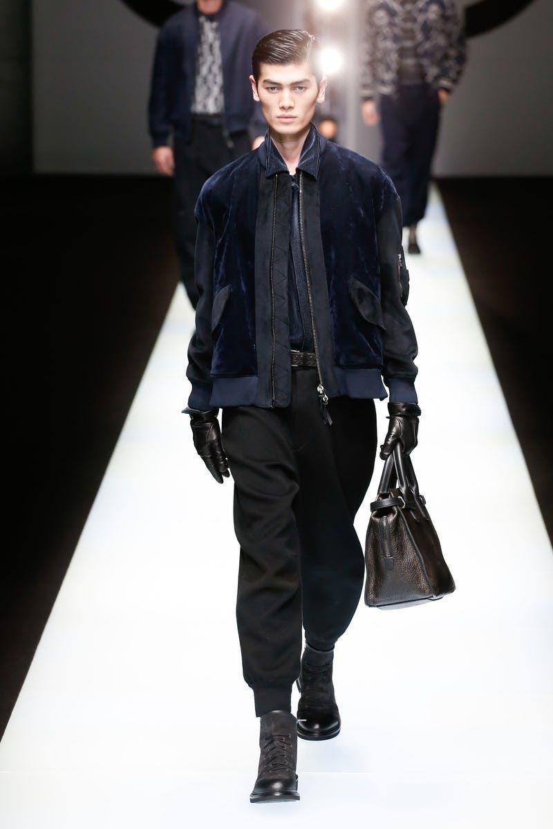 Giorgio Armani | Menswear - Autumn 2018 | Look 33