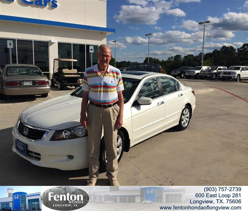Lovely #HappyBirthday To Byron Allen From Everyone At Fenton Honda Of Longview!