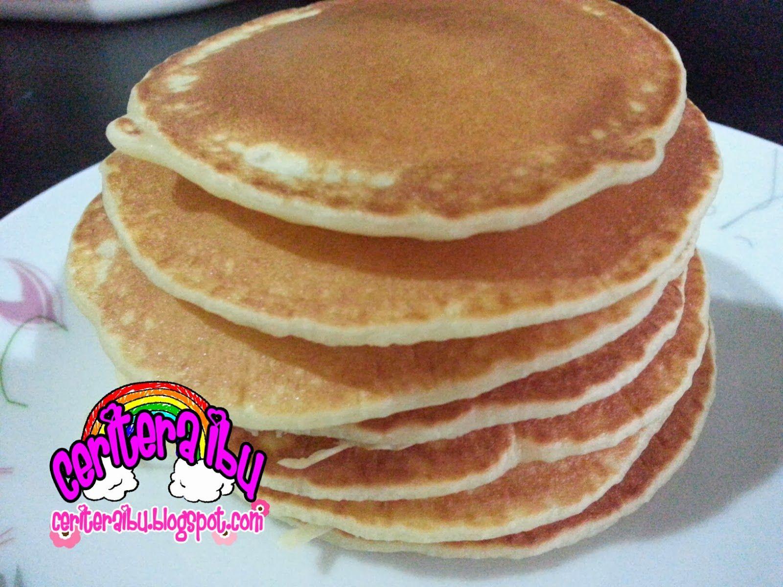 Pancake yang mudah dan sedap!! (With images) Easy