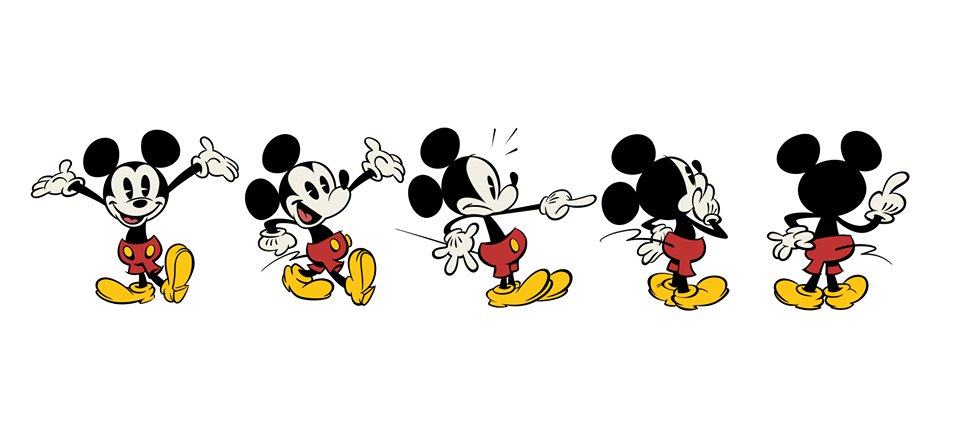 "New ""Classic Style"" Mickey Mouse cartoons now being aired ..."