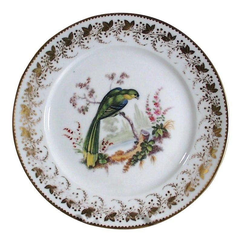 Antique London Decorated Paris Porcelain Plate Probably By Thomas Randall London Decor Plates Antiques