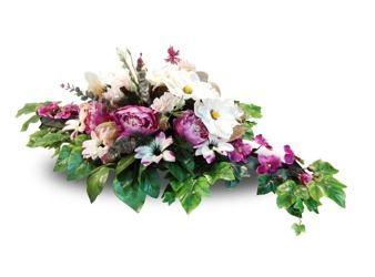 Wielki Stroik Na Grob Kwiaty Sztuczne 130cm Hit Floral Floral Wreath Wreaths
