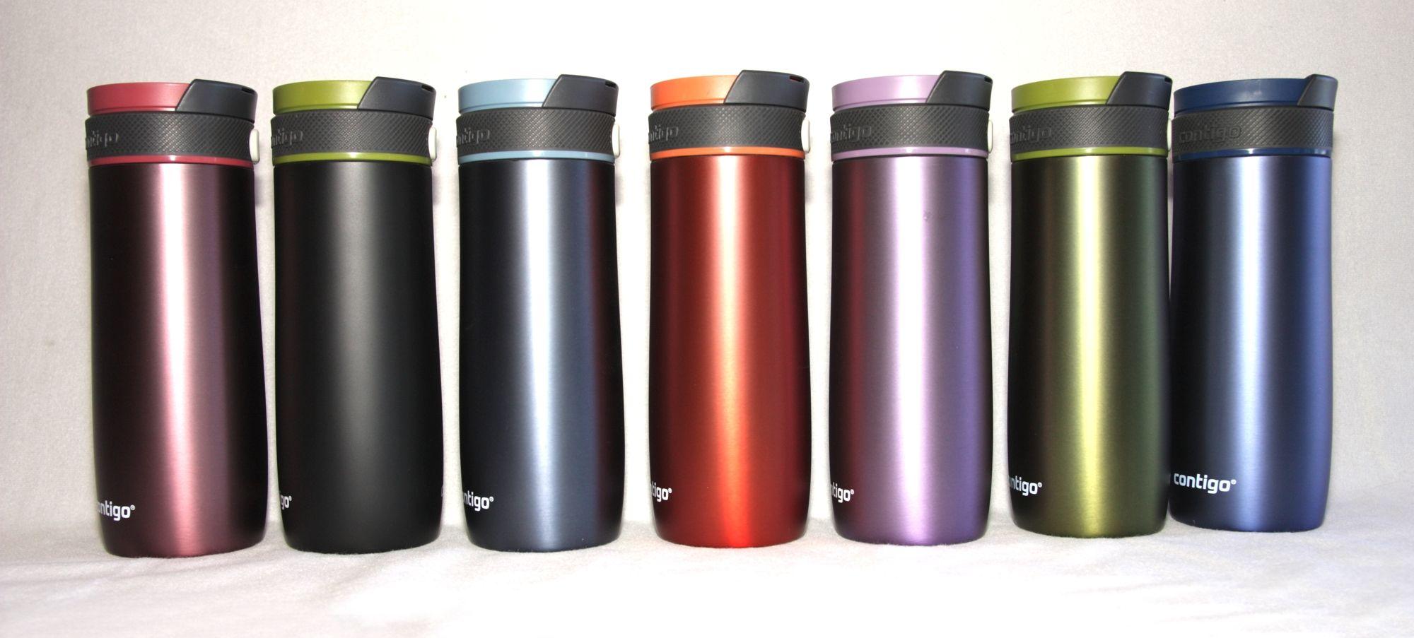 stainless steel custom contigo 14oz color travel mug custom coffee