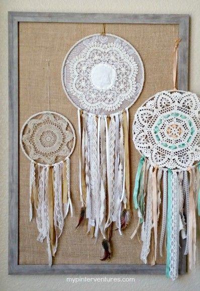 17 Beautiful Ribbon Projects #ribboncrafts