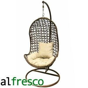 Al Fresco St Tropez Hanging Chair And Cushion Chairs For A Bedroom Http Www Homebargains Co Uk Products 3867 Buy At Home Bargains