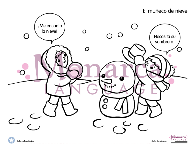 Fun coloring free pages in Spanish