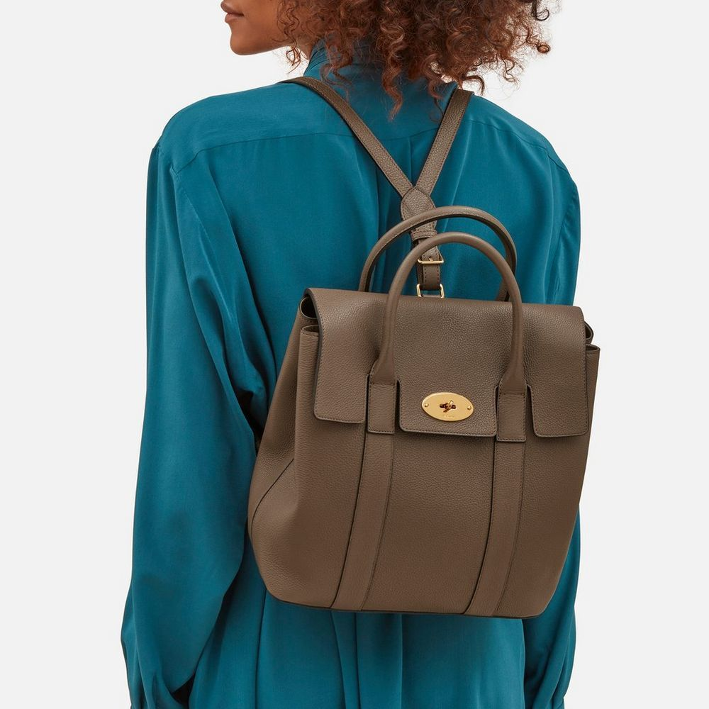 Shop the Bayswater Backpack in Clay Small Classic Grain Leather at Mulberry.com.  The b228e4aa9c7e8