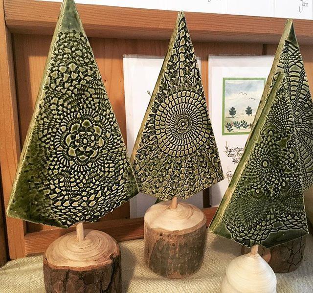 """Farmer-Rabensteiner vlg. Graf auf Instagram: """"Wunderschöne Keramik-Bäume aus der Bad Gamser Keramik"""