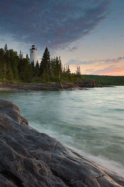 Spent two weeks backpacking here many moons ago. Isle Royale National Park, Michigan