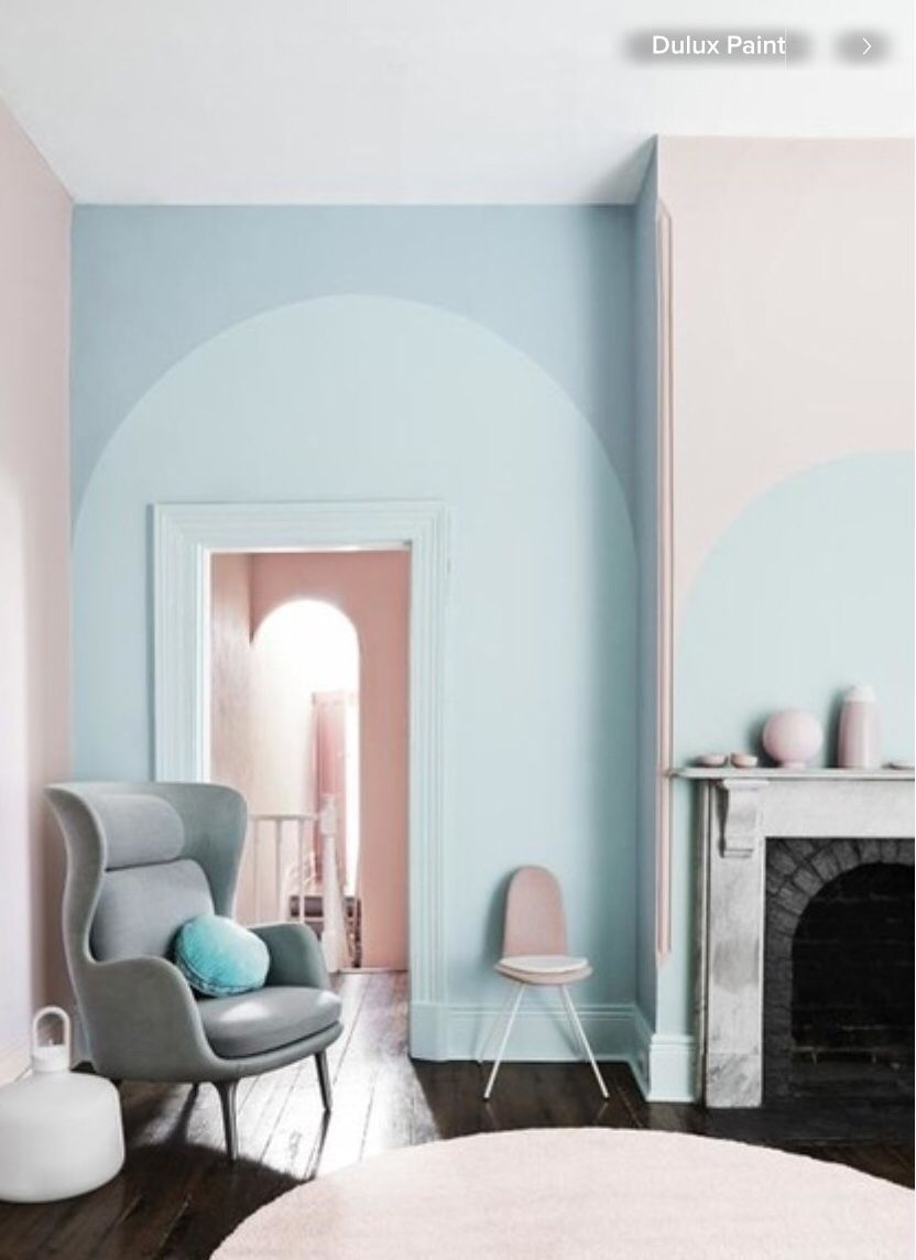 Pastel Interior Styling For Dulux Paints Pretty Turquoise And Pink Room Decor