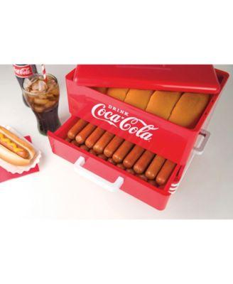 Nostalgia Electrics HDS248COKE Nostalgia Hds248coke Coca-cola Hot Dog Steamer