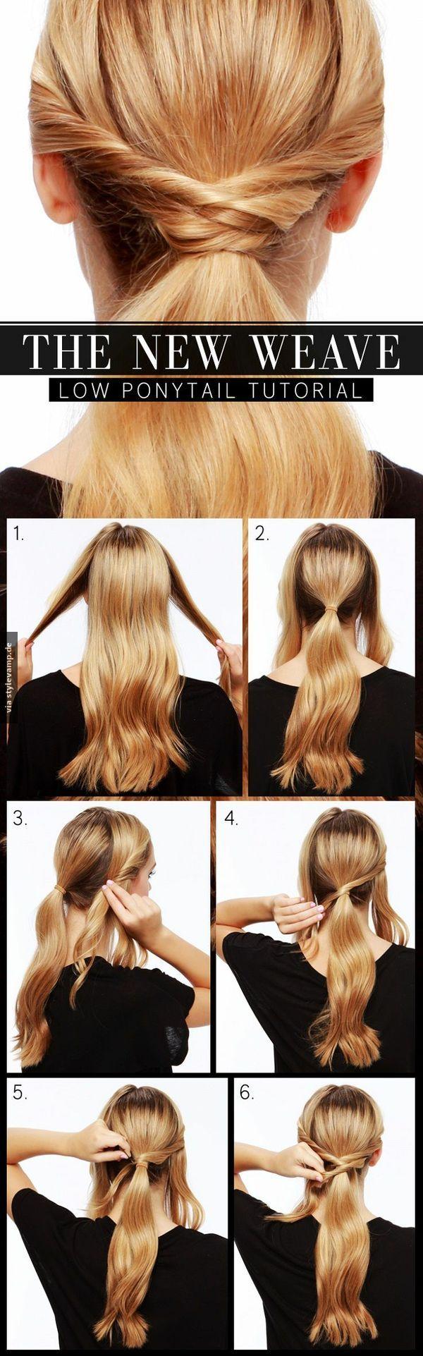 Low ponytail tutorial hair tutorial easy hair tutorial