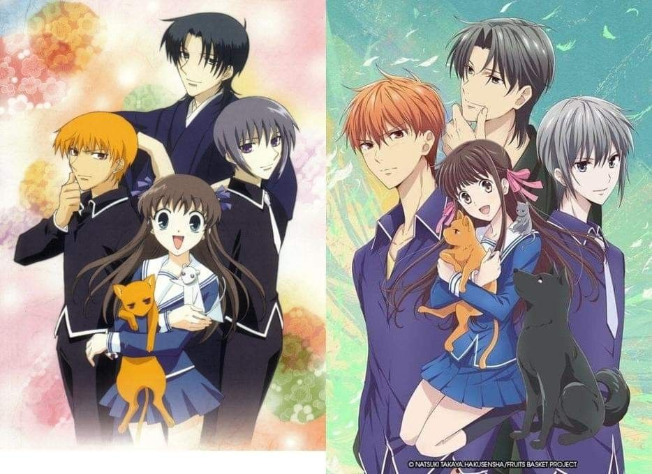 Both Versions of Fruits Basket Fruits basket anime