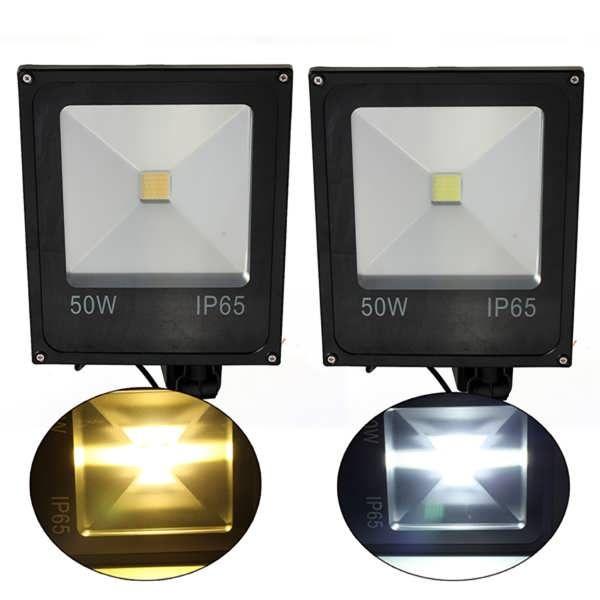 50w Pir Motion Sensor Led Flood Light Ip65 Warm Cold White Lighting Worldwide Delivery Original Best Quality Product Led Flood Lights Led Flood Flood Lights