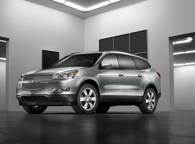 The 2017 Chevy Traverse is no longer based on the GM Lambda