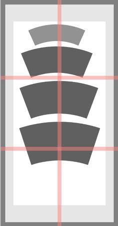 Downloadable mug slab template, handbuilding mug template