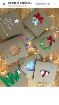 Noël Nouvel An Carte De Voeux Papier Bricolage Christmas