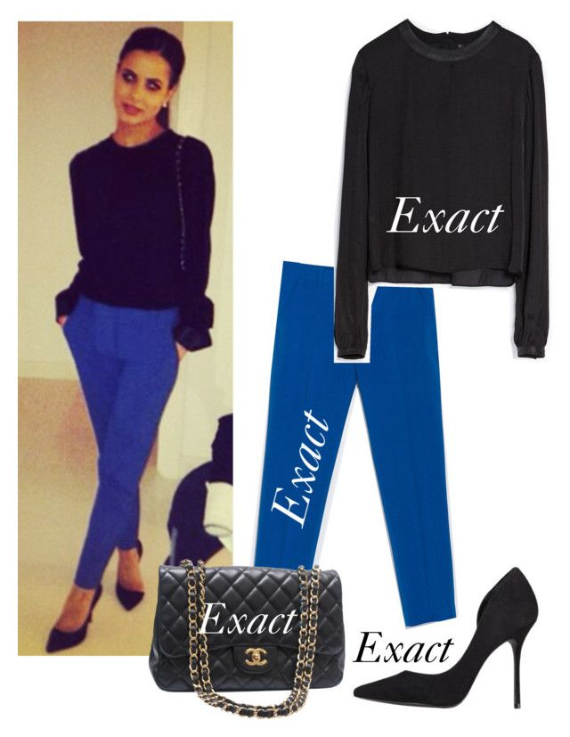 """""""Sophia Smith"""" by eleanor-perrie-sophia-dani-style ❤ liked on Polyvore featuring Zara, Chanel and Kurt Geiger"""