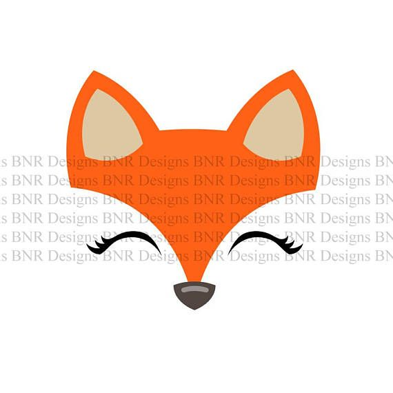Fox Face SVG Cut File ...
