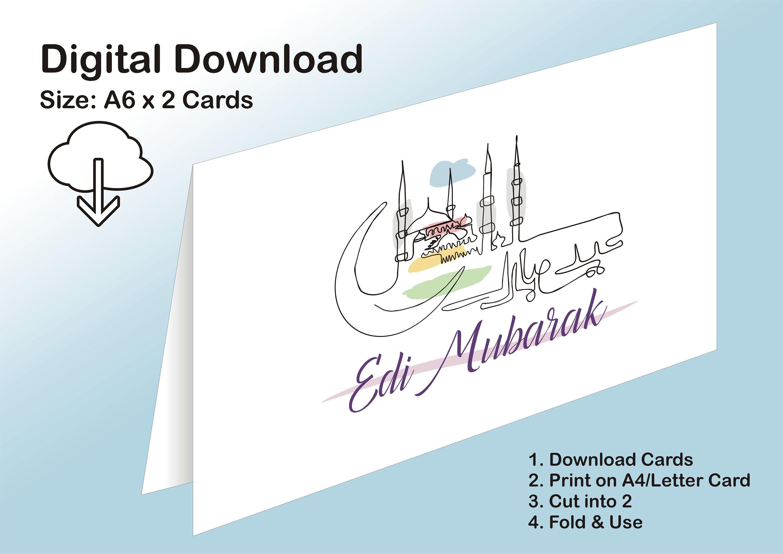 printable eid card