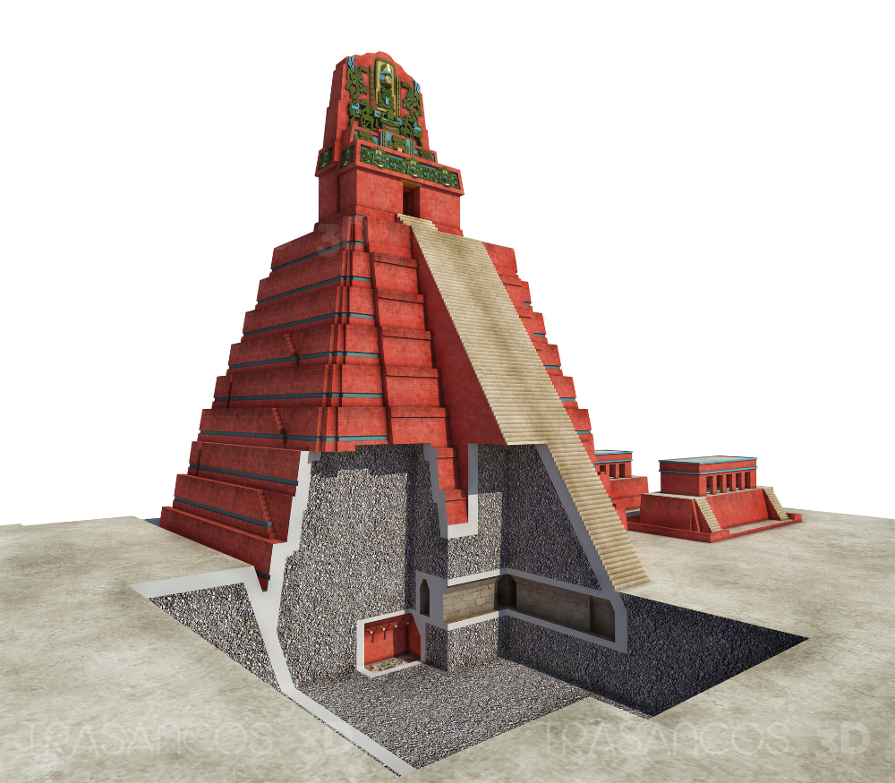 Artstation Tikal Rba And National Geographic Archeology Collection Anxo Mijan Marono Mayan Art Aztec Temple Tikal