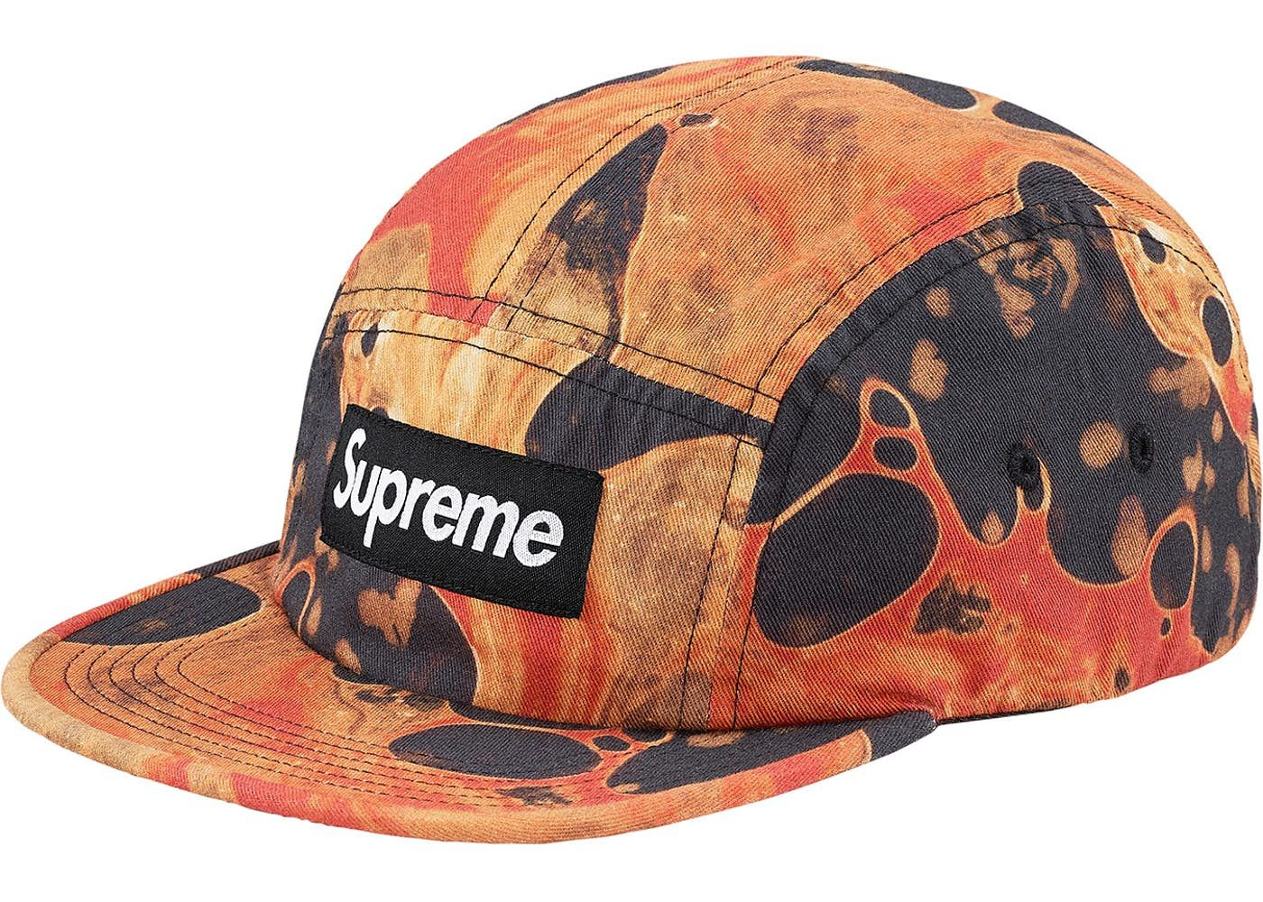 1241286e Check out the Supreme Blood and Semen Camp Cap Black available on StockX