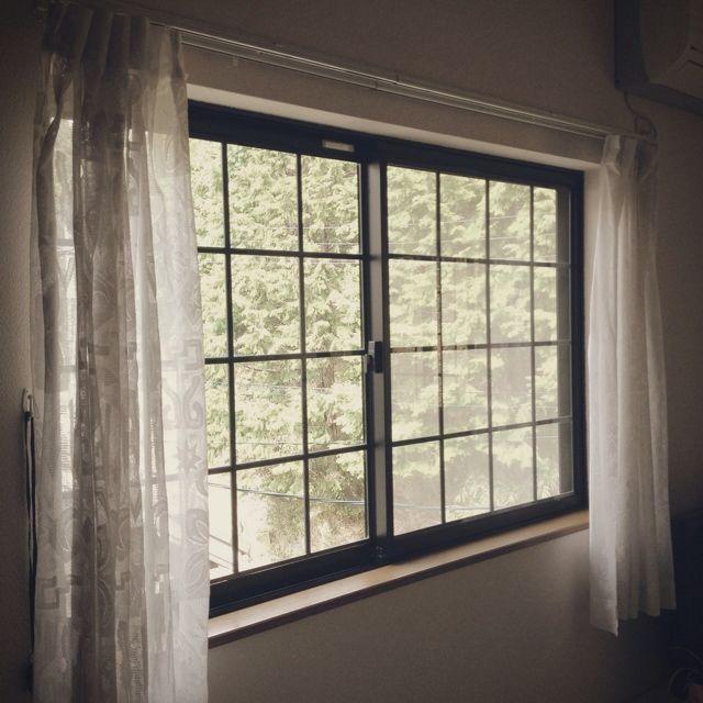 壁 天井 カーテン 窓際のインテリア実例 2013 04 01 19 02 33