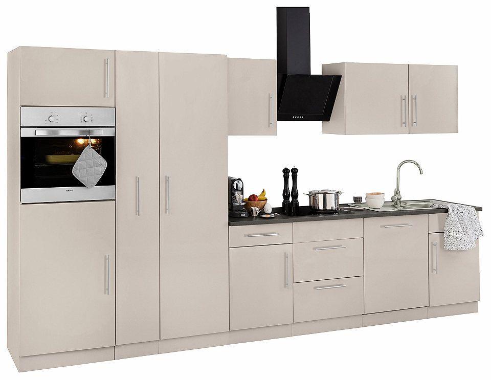 Küchenzeile »Cali« mit E-Geräten, Breite 360 cm Jetzt bestellen - küchenzeile 160 cm