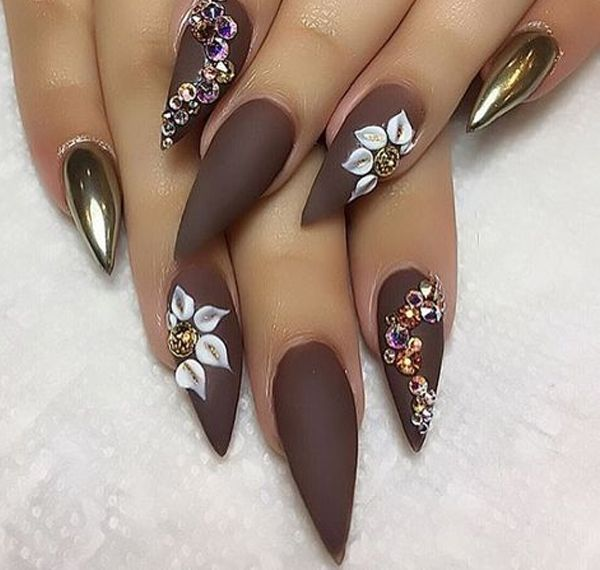 Mountain Peak Nails Dressed Up Makeup And Nails Pinterest