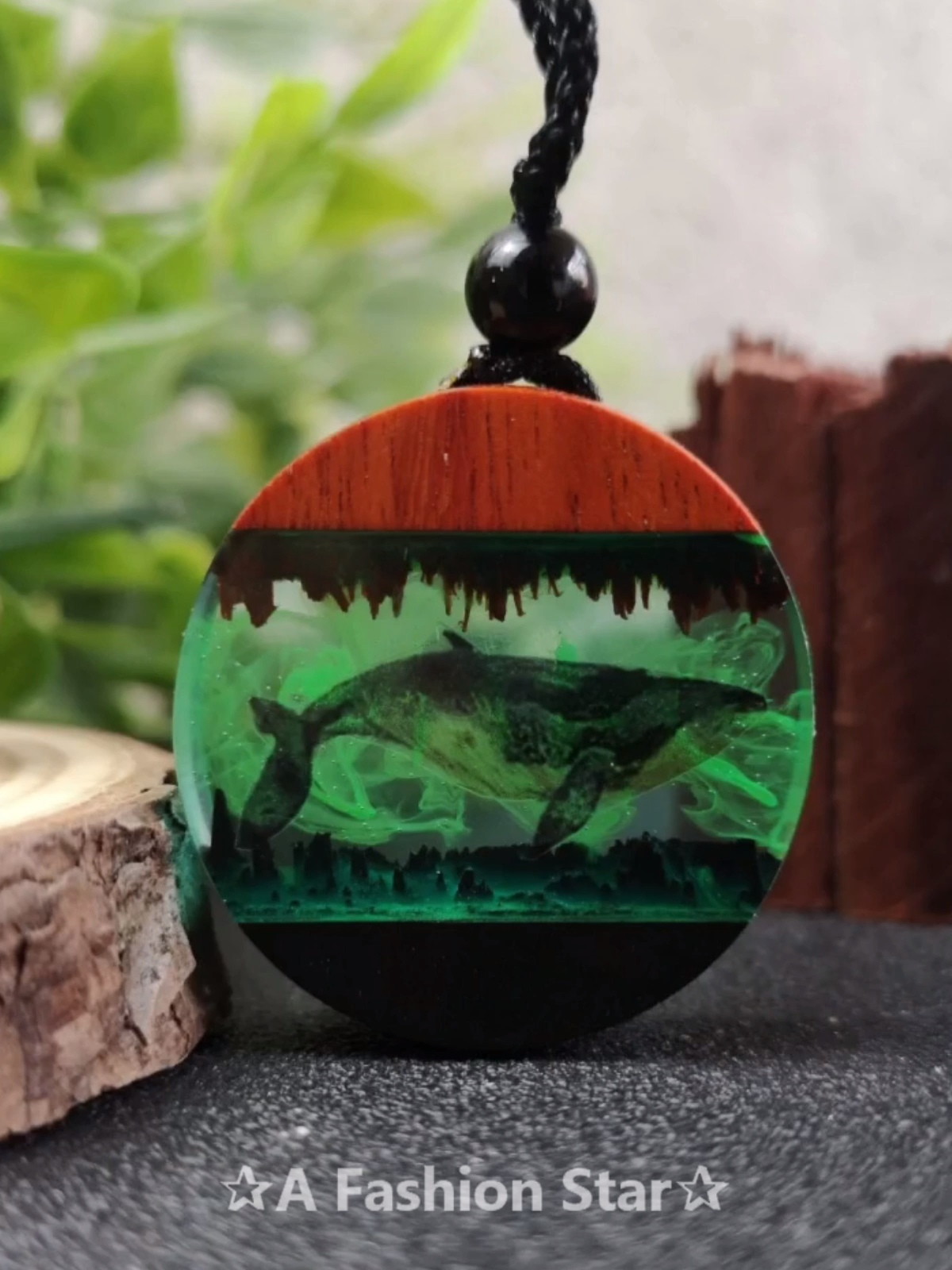 How To Make Resin Crafts – Amazing Wood Resin Necklace #wood
