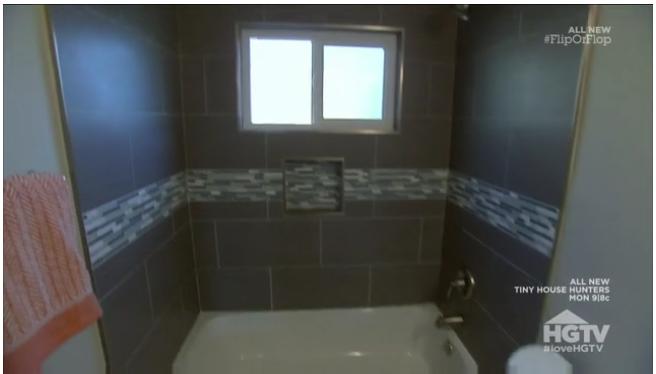 LOVE this shower tile Flip or Flop on HGTV House of Hidden