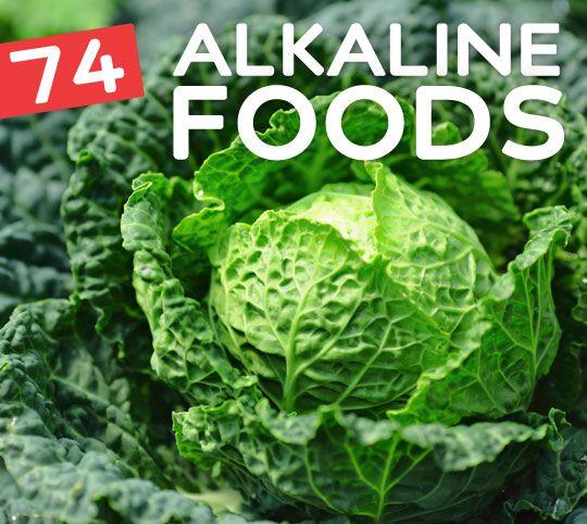 74 FOODS TO NATURALLY ALKINIZE YOUR BODY - http://bembu.com/alkaline-foods