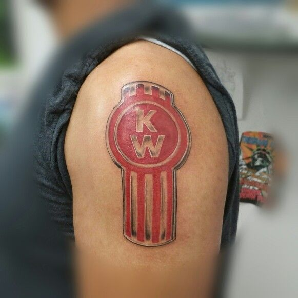 Kenworth logo tattoos