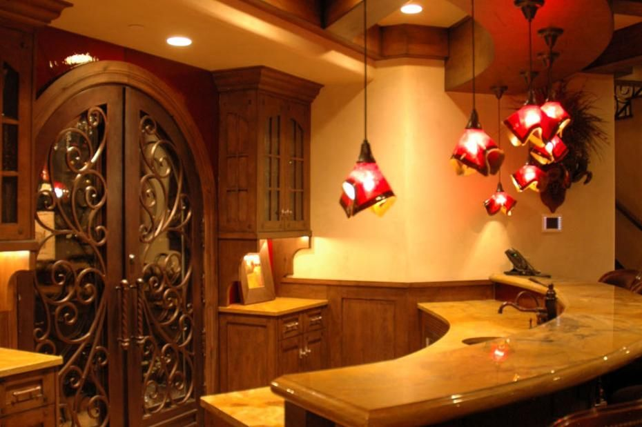 Gorgeous Wet Bar In A Tuscan Style Home Tuscan Design