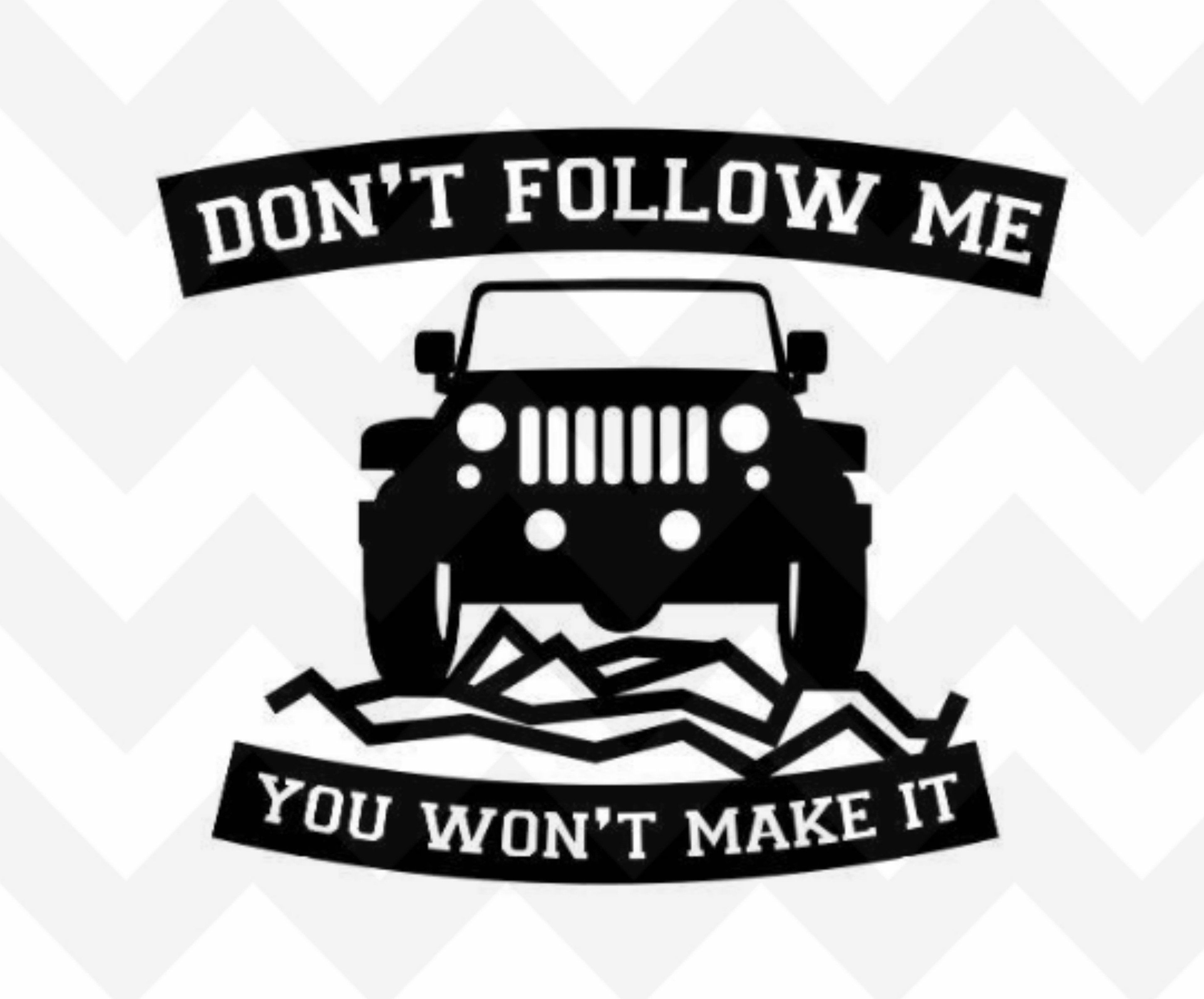 Jeep Decal Jeep Jeep Sticker Jeep Decals Jeep Wrangler