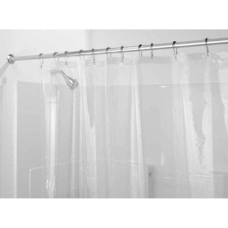 Weltrxe Heavy Duty Eva Shower Curtain Liner With Magnets