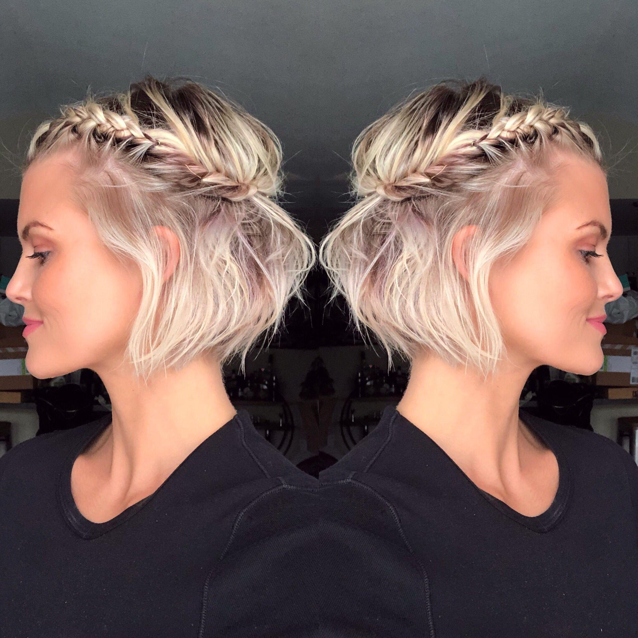 Krissafowles Short Blonde Hair Braids For Short Hair Short Blonde Hair Short Festival Hair
