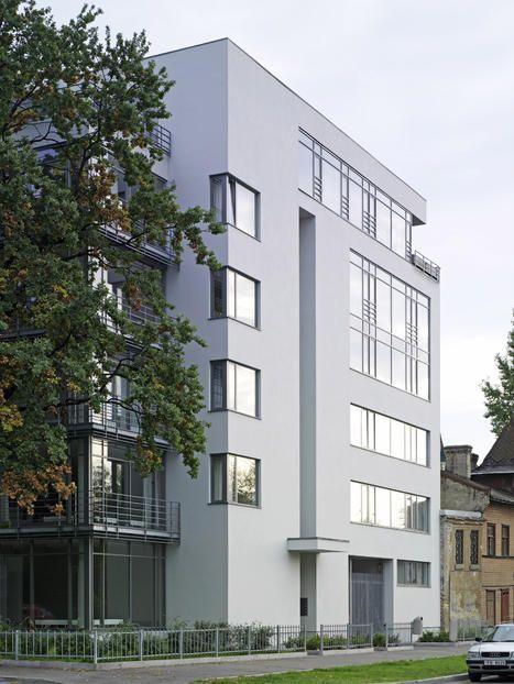 2005 Latvia, Riga Apartment House, Zaubes Street 12   Gmp Architekten Von  Gerkan,